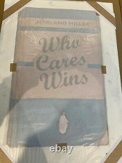 Harland Miller who cares wins