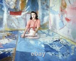 Helen Frankenthaler Framed Exhibition Print
