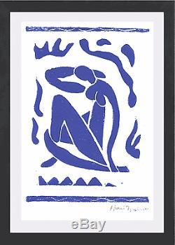Henri Matisse Original Ltd Ed Print Blue Nude Hand Signed with COA (unframed)