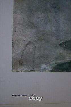 Henri Toulouse Lautrec Promenade du Matin dans le Bois de Bologne Kunstdruck