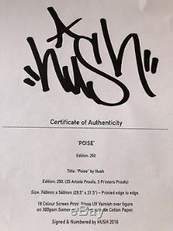 Hush Poise Print
