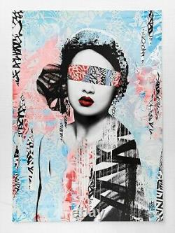 Hush Trial and Errors 2015 Screen Print Poster Signed Numbered Limited 250
