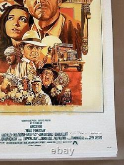 Indiana Jones AP Prints by Paul Mann Art Print Poster Raiders Movie Trilogy Set