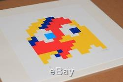 Invader Yellow Aladdin Sane Signed Sold Out