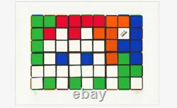 Invader print 50x70 Only 20 In the world signed And stamped lazarides