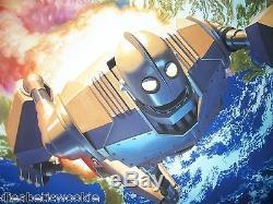 Iron Giant by Alex Ross MondoCon Exclusive Limited Art Print Mondo RARE