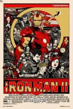 Iron Man 2 Mondo Poster Tyler Stout