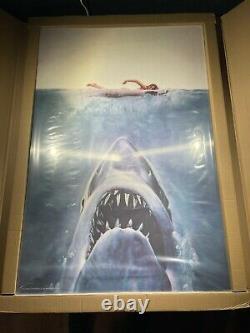 JAWS Art Print 3D Lenticular Art Poster 1mm Roger Kastel Mondo BNG XX/500