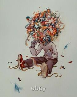 James Jean Crayon Eater 2009 Rare Signed Giclee Print
