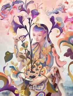 James Jean The Editor 2019 Poster Print S/N Giclee Limited Edition #397/500