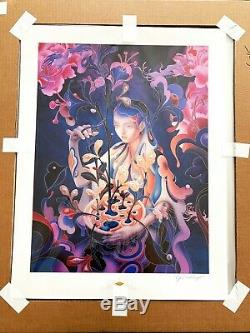 James Jean The Editor Night Mode Limited Edition Giclee Print Signed # 6-15 /781