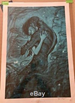James Jean The Shape Of Water Limited Edition Poster Sold Out