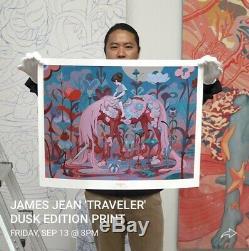 James Jean The Traveler Dusk Edition Print Order Confirmed