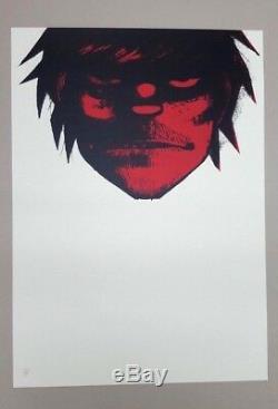 Jamie HEWLETT- Gorillaz MURDOC Print Numbered POW