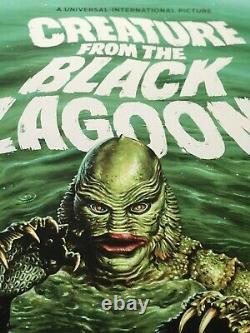 Jason Edmiston Creature from the Black Lagoon Mondo Print Poster Invisible Man