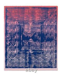 Jason Revok Loop Magenta Limited Edition Print 1/75