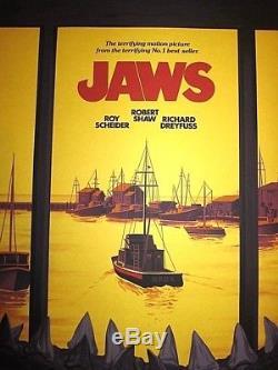 Jaws Mondo Ltd Edition Screen Print Version 2 Phantom City Creative PCC x/225