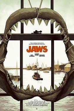 Jaws PCC Phantom City Creative Poster Print Limited Edition Mondo SDCC AP