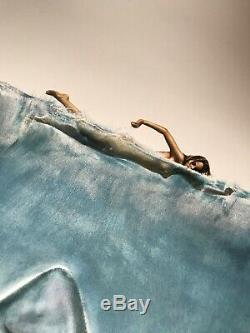Jaws Roger Kastel Signed The Shark Mondo Print Movie Poster Art Steven Spielberg