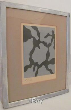 Jean/Hans Arp Woodcut c. 1953 Relief II