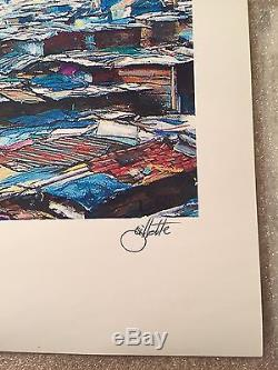 Jeff Gillette DISNEYLAND RARE SIGNED PRINT BANKSY DISMALAND MICKEY DISNEY KAWS
