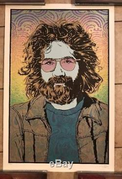 Jerry Garcia Orpheus Poster Art Print Grateful Dead Chuck Sperry Signed S/N