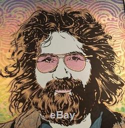 Jerry Garcia Orpheus Poster Art Print Grateful Dead Chuck Sperry Signed S/N