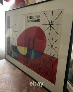 Joan Miro, Derriere Le Miroir (Miro Artigas) (Cover), Lithograph