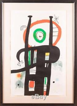 Joan Miro Le Grand Ordinateur Etching, aquatint and carborundum Painting Mint