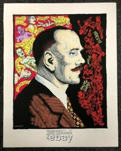 Joe Coleman Rare Limited Edition Signed And Numbered Print