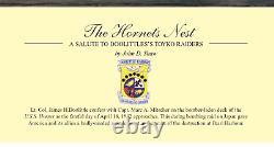 John Shaw The Hornet's Nest Jimmy Doolittle signed by 5 Doolittle Raiders