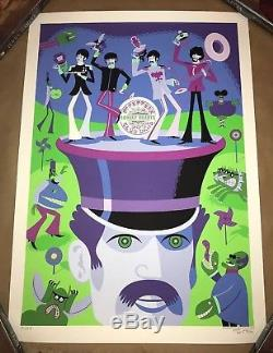 Josh Agle SHAG The Beatles'May I Introduce You To' Poster Art Print Signed S/N