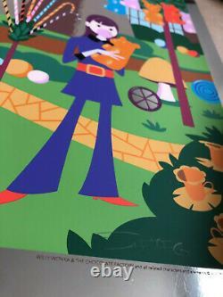 Josh Agle SHAG WILLY WONKA & Chocolate Factory RARE print ART P/P Gene Wilder