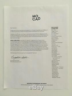 KAWS signed screenprint ALONE AGAIN (2019) MOCAD ed of 250 banksy brainwash
