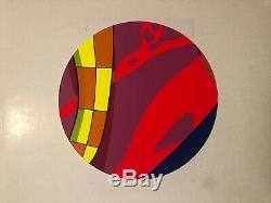 KAWS x BROOKLYN MUSEUM LIMITED EDITION PRINT 8 Companion Tondo MOCAD SIGNED