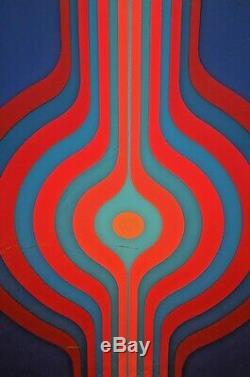 KYOHEI INUKAI Original Signed MoMA Spectrum Modern Abstract Silkscreen Serigraph
