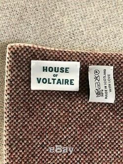 Kaws Blanket X House Of Voltaire. 85 Edition. Red Version. Cashmere. Banksy