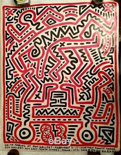 Keith Haring FUN GALLERY Poster