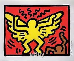 Keith Haring Pop Shop IV (1) 1987 Rare Signed Screenprint Framed Gallart