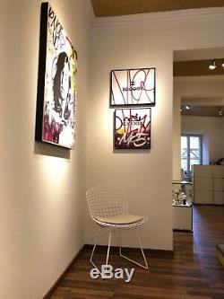 Keith Haring Schaukelpferd Rocker Bascule Designobjekt Sessel Stuhl