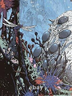 Kilian Eng Nausicaa of the Valley Wind Variant Print Mondo Lord Rings Jaws Art