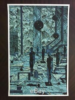 Kilian Eng The Last Wave screen print Killian Eng Jean Giraud Moebius Inspired