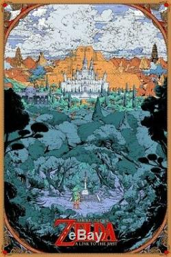 Kilian Eng The Legend of Zelda A Link to the Past Poster Print Mondo