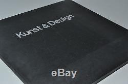 Kunst+Design Rosenthal Relief-Kunstreihen Prospekt Günther Uecker Prägedruck