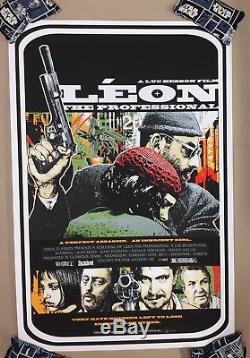 LEON The Professional Screen Print Poster #10/94 James Rheem Davis not Mondo