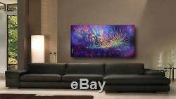 Lang ART abstract Giclee canvas print MODERN PAINTING Contemporary DECOR