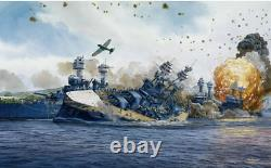Last Torpedo Tom Freeman Print USS Oklahoma, Pearl Harbor Attack Dec 7, 1941