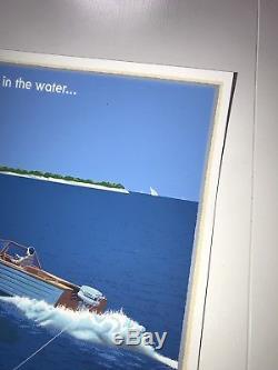 Laurent Durieux Jaws 2 Mondo Print Movie Poster Shark Horror Art Sea Ocean Ship