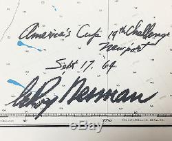LeRoy Neiman AMERICA'S CUP HAND SIGNED SERIGRAPH Art sailing silkscreen