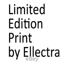 Limited Edition Print By Ellectra Nude Erotic Oil Rose Lesbian Interest